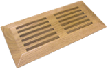 Top mount wood vent