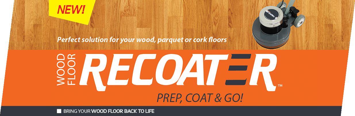 NEW - Wood floor Recoater, Bring your wood floor back to life